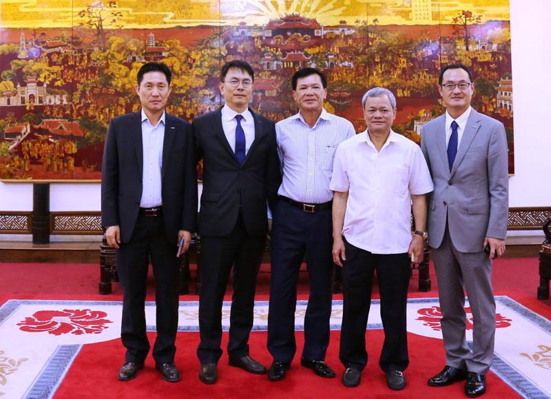 DIC Corp tìm hiểu cơ hội đầu tư tại Bắc Ninh