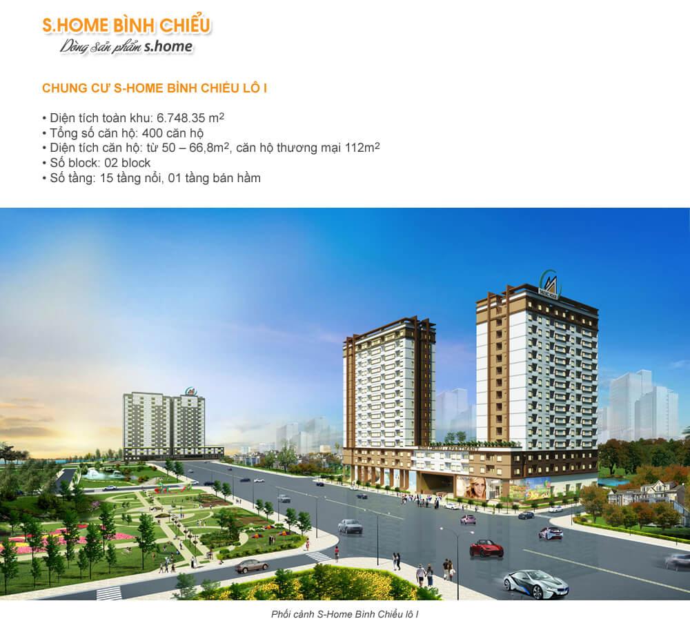 S Apartment – Binh Chieu Home Lot I Project