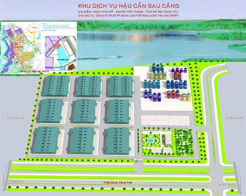 The Logistics Service Area Behind The Port Project of Tan Thanh District, Ba Ria – Vung Tau Province