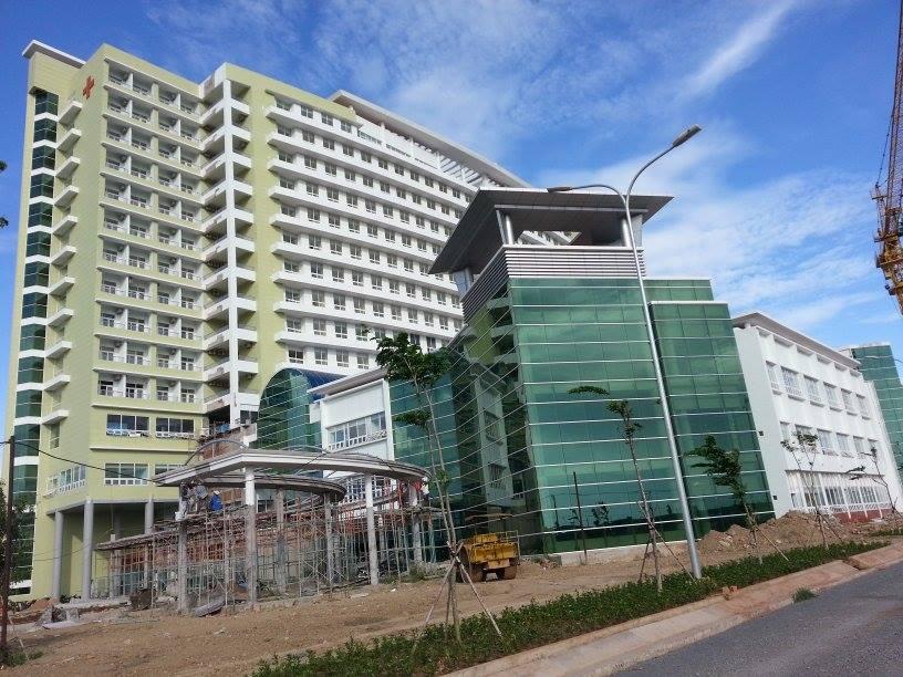 Công trình bệnh viện Bà Rịa