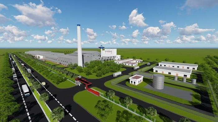 Công trình Xây dựng Nhà máy Sản xuất Kính nổi Siêu trắng